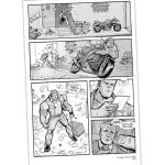 Comic Book Interiors (pencil, ink, gray tones), Dimestore Productions