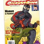 Magazine Cover, Crossfire Paintball Digest