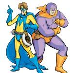 Web Comic, Melvin & Jellybean