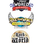 Rock Your World Logo, Vector Marketing