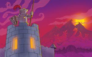 Good Night Knight - children's book